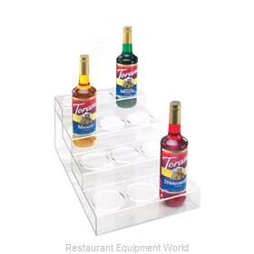 Cal-Mil Plastics P297 Liquor Bottle Display Countertop