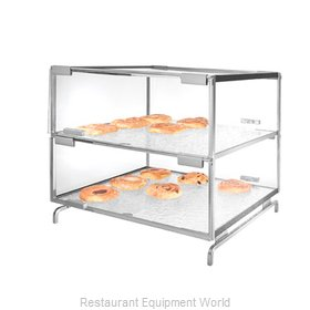Cal-Mil Plastics PC200-39 Display Case, Pastry, Countertop (Clear)