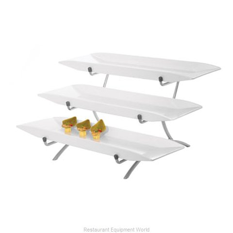 Cal-Mil Plastics SR1033-B Tiered Display Server Stand
