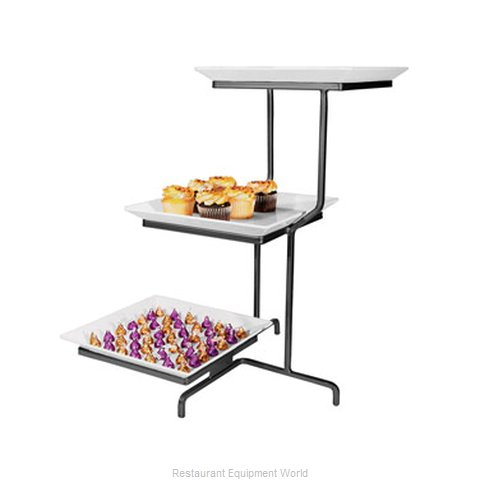 Cal-Mil Plastics SR2301-P Tiered Display Server Stand