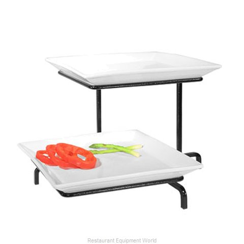Cal-Mil Plastics SR2322-B Tiered Display Server Stand