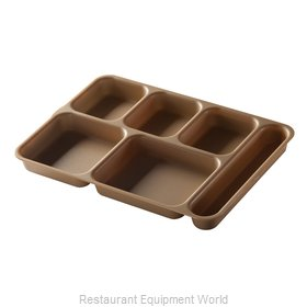 Cambro 10146DCW133 Tray, Compartment, Plastic