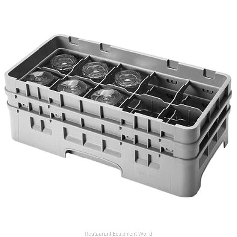 Cambro 10HS434167 Dishwasher Rack Glass Compartment