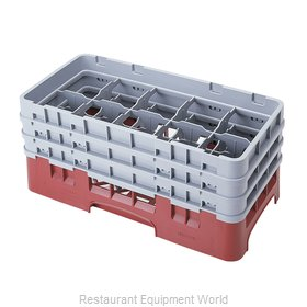 Cambro 10HS638416 Dishwasher Rack Glass Compartment