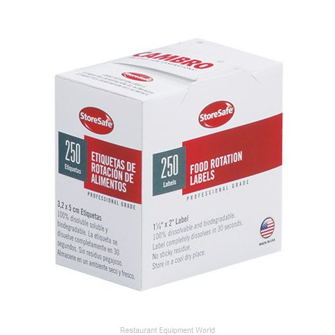 Cambro 1252SLINB250 Stickers (Labels)
