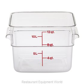 Cambro 12SFSCW135 Food Storage Container, Square