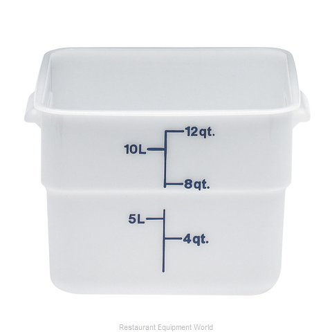Cambro 12SFSP148 Food Storage Container, Square (Magnified)