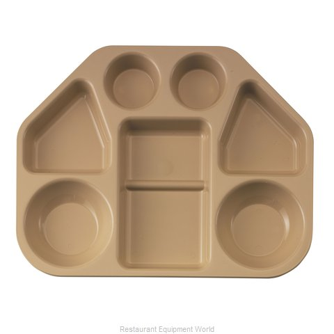 Cambro 14187TRCW133 Tray, Compartment, Plastic (Magnified)