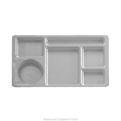 Cambro 1596CP437 2 x 2 Compartment Tray (Magnified)