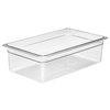 Bandeja, Plástico <br><span class=fgrey12>(Cambro 16CW135 Food Pan, Plastic)</span>