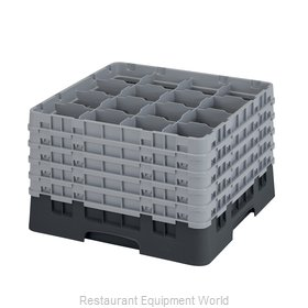 Cambro 16S1058110 Dishwasher Rack, Glass Compartment
