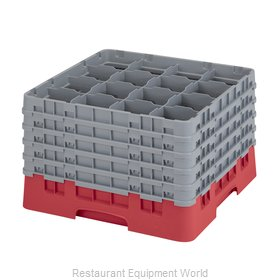Cambro 16S1058163 Dishwasher Rack, Glass Compartment