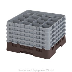 Cambro 16S1058167 Dishwasher Rack, Glass Compartment