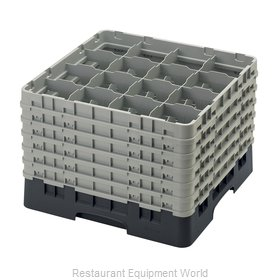 Cambro 16S1214110 Dishwasher Rack, Glass Compartment