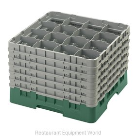 Cambro 16S1214119 Dishwasher Rack, Glass Compartment