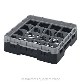 Cambro 16S318110 Dishwasher Rack, Glass Compartment