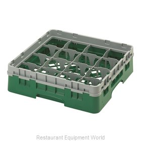 Cambro 16S318119 Dishwasher Rack, Glass Compartment