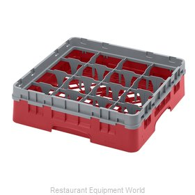 Cambro 16S318163 Dishwasher Rack, Glass Compartment