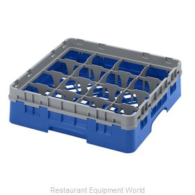 Cambro 16S318168 Dishwasher Rack, Glass Compartment