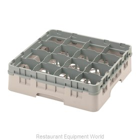 Cambro 16S418184 Dishwasher Rack, Glass Compartment
