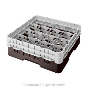 Cambro 16S434167 Dishwasher Rack, Glass Compartment