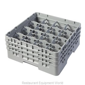 Cambro 16S638151 Dishwasher Rack, Glass Compartment