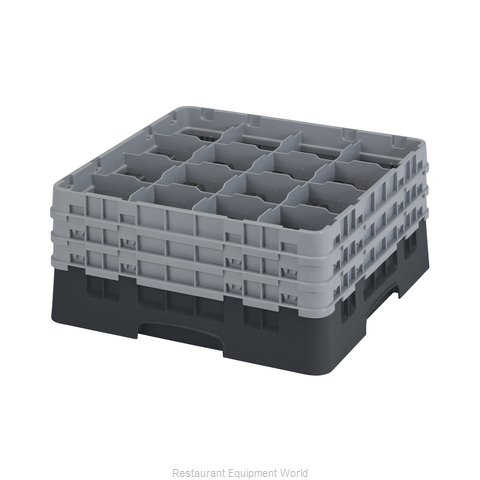 Cambro 16S738110 Dishwasher Rack, Glass Compartment