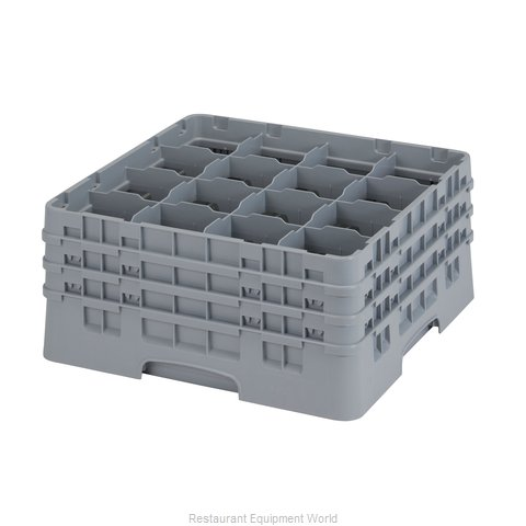 Cambro 16S738151 Dishwasher Rack Glass Compartment