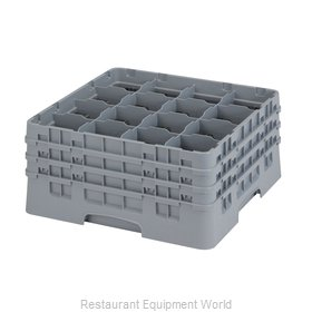 Cambro 16S738151 Dishwasher Rack, Glass Compartment