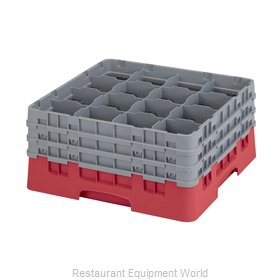 Cambro 16S738163 Dishwasher Rack Glass Compartment