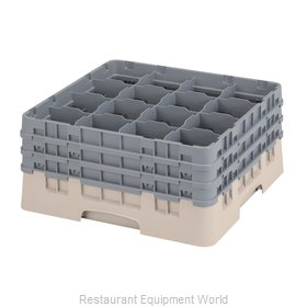Cambro 16S738184 Dishwasher Rack Glass Compartment