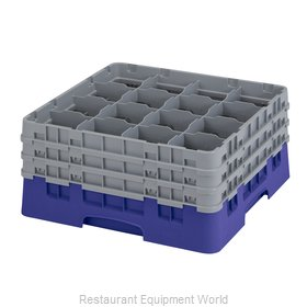 Cambro 16S738186 Dishwasher Rack Glass Compartment