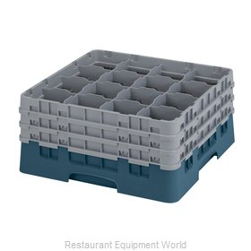 Cambro 16S738414 Dishwasher Rack, Glass Compartment