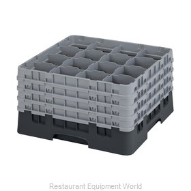 Cambro 16S900110 Dishwasher Rack, Glass Compartment