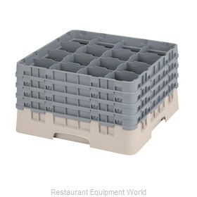 Cambro 16S900184 Dishwasher Rack, Glass Compartment