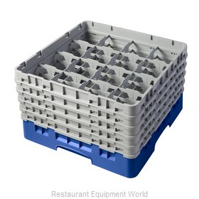 Cambro 16S958168 Dishwasher Rack, Glass Compartment