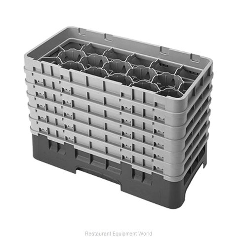 Cambro 17HS1114416 Dishwasher Rack, Glass Compartment