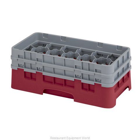 Cambro 17HS434416 Dishwasher Rack Glass Compartment