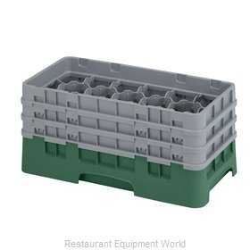 Cambro 17HS638119 Dishwasher Rack Glass Compartment