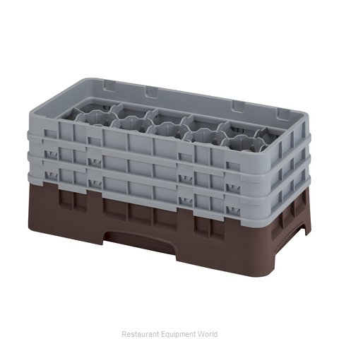 Cambro 17HS638167 Dishwasher Rack Glass Compartment
