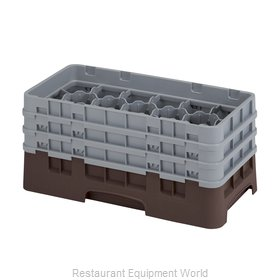 Cambro 17HS638167 Dishwasher Rack, Glass Compartment