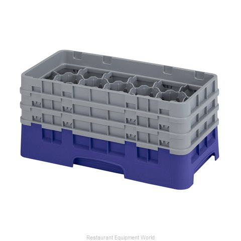 Cambro 17HS638186 Dishwasher Rack, Glass Compartment
