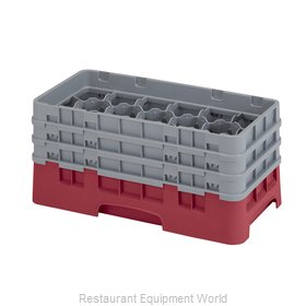 Cambro 17HS638416 Dishwasher Rack Glass Compartment