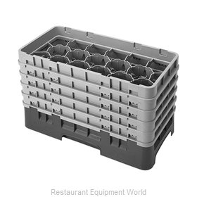 Cambro 17HS958119 Dishwasher Rack, Glass Compartment