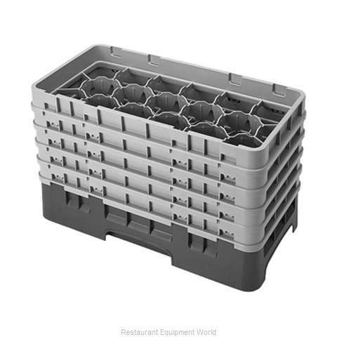 Cambro 17HS958186 Dishwasher Rack Glass Compartment