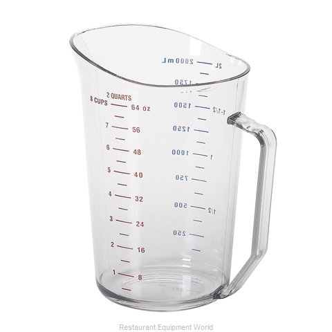 Cambro 200MCCW135 Measuring Cups (Magnified)