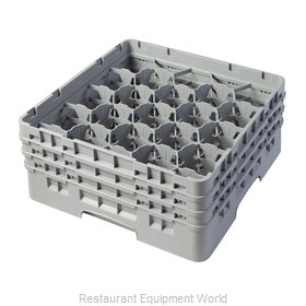 Cambro 20S638151 Dishwasher Rack, Glass Compartment