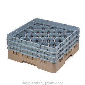 Cambro 20S638184 Dishwasher Rack Glass Compartment