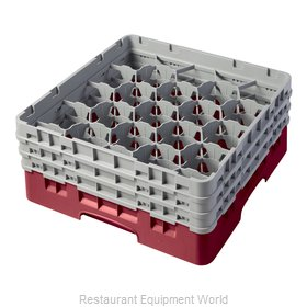 Cambro 20S638416 Dishwasher Rack Glass Compartment