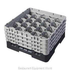 Cambro 20S800110 Dishwasher Rack Glass Compartment